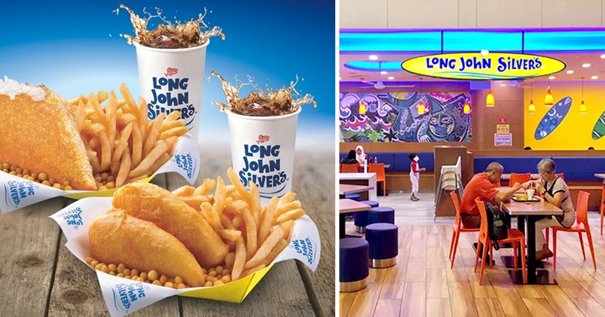 Long John Silver's offering S$5.60 for Fish & Chicken Combo Meals because it's Singapore's 56th birthday