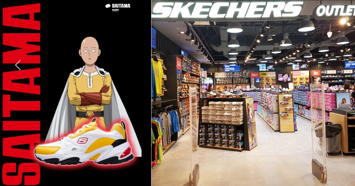 Skechers Singapore launches One Punch Man hoodies & sneakers Collection today, 18 January 2021