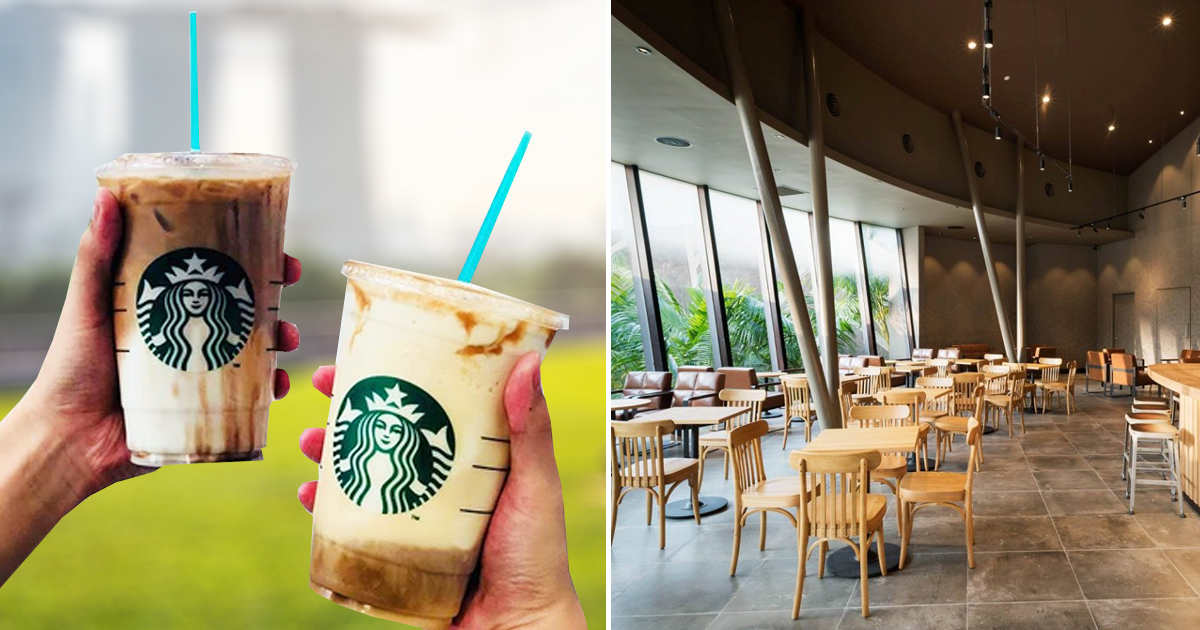 Starbucks Singapore Offers 1-For-1 Deal on selected Venti-sized drinks, available till 28 January 2021