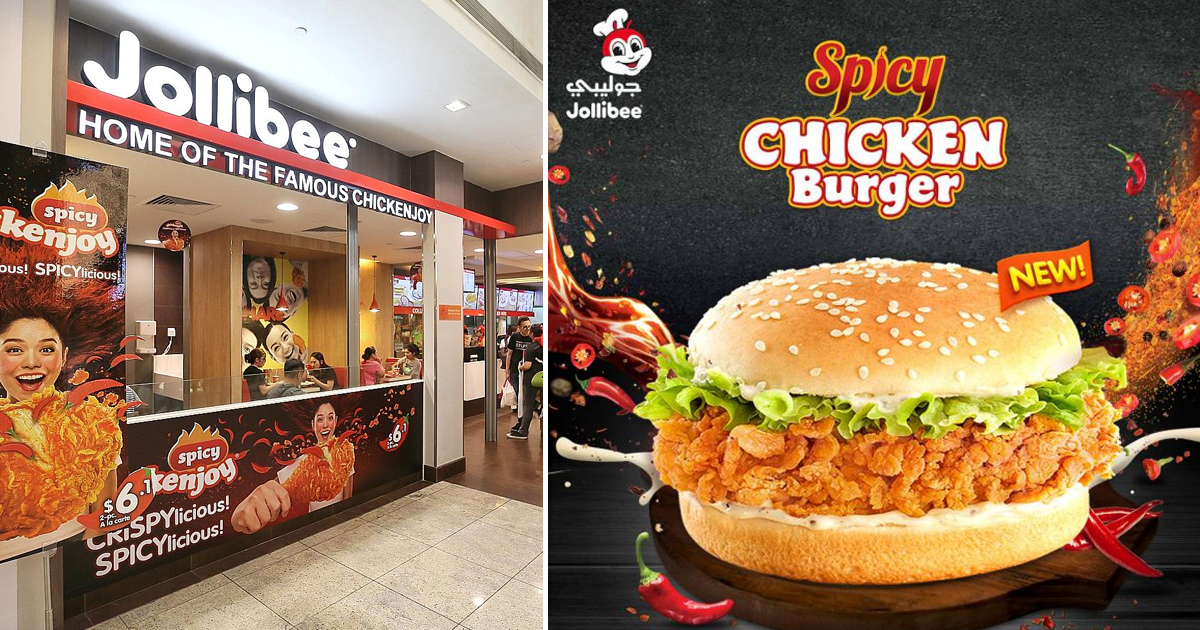 Jollibee Singapore launches Spicy Jolly Chicken Fillet Burger that can rival McSpicy