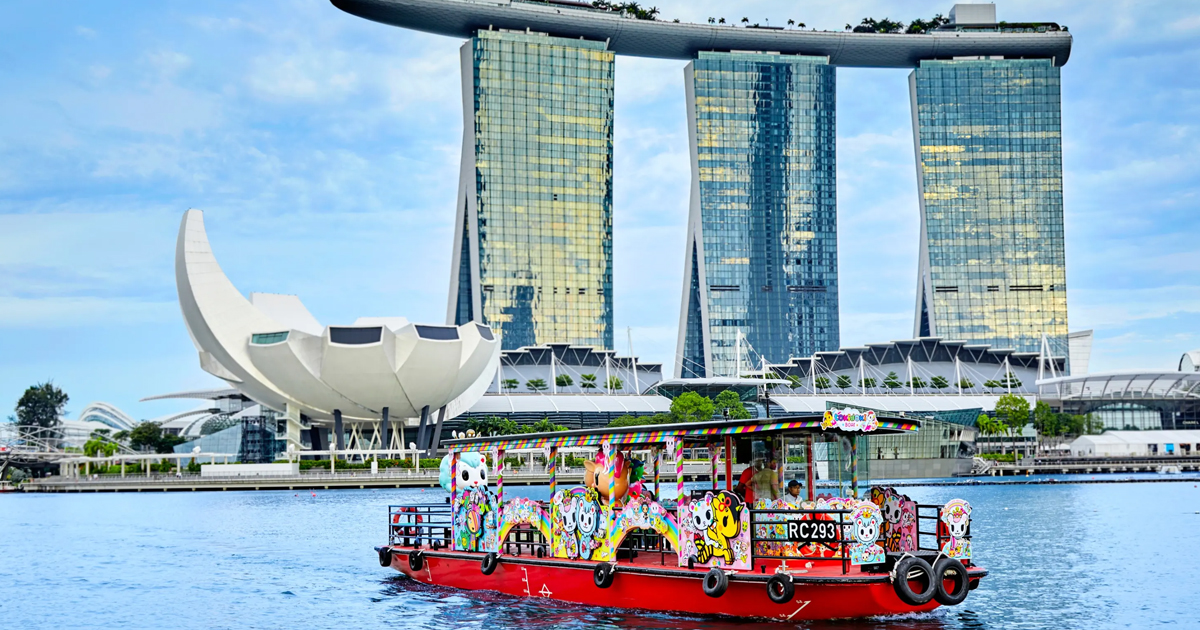 Durian Cruise scenic tour along Singapore River is happening on 20 Feb 2021, S$65 per pax