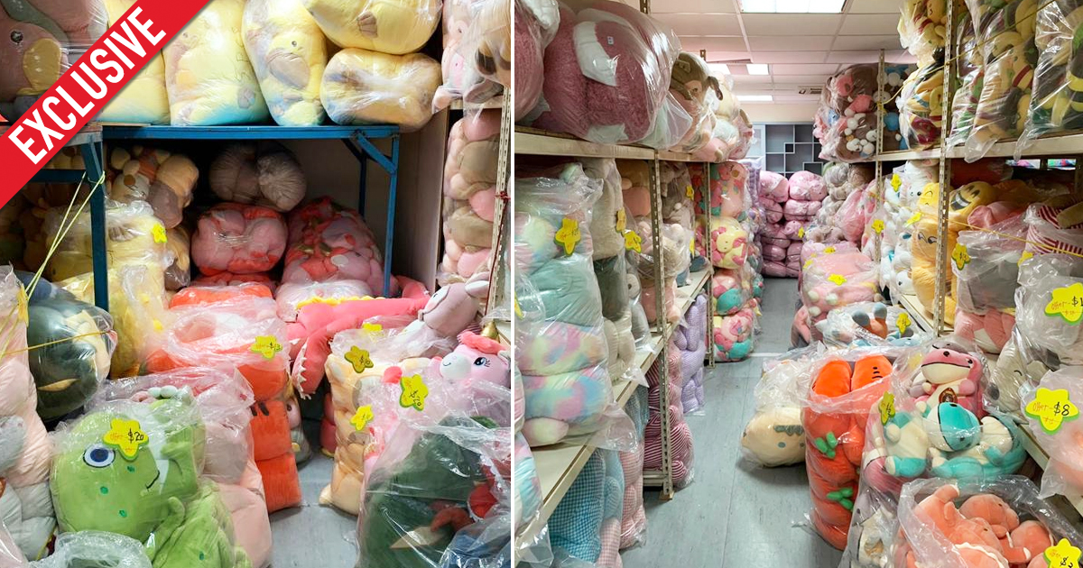 Amusement Park Company Warehouse Sale: Plushies and toys from as low as S$1