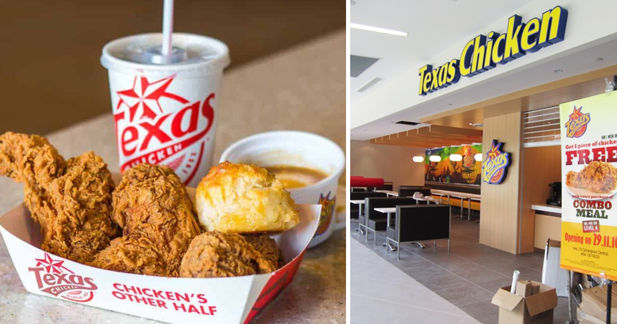 Texas Chicken Offers 12pcs chicken meal for S$12 and more