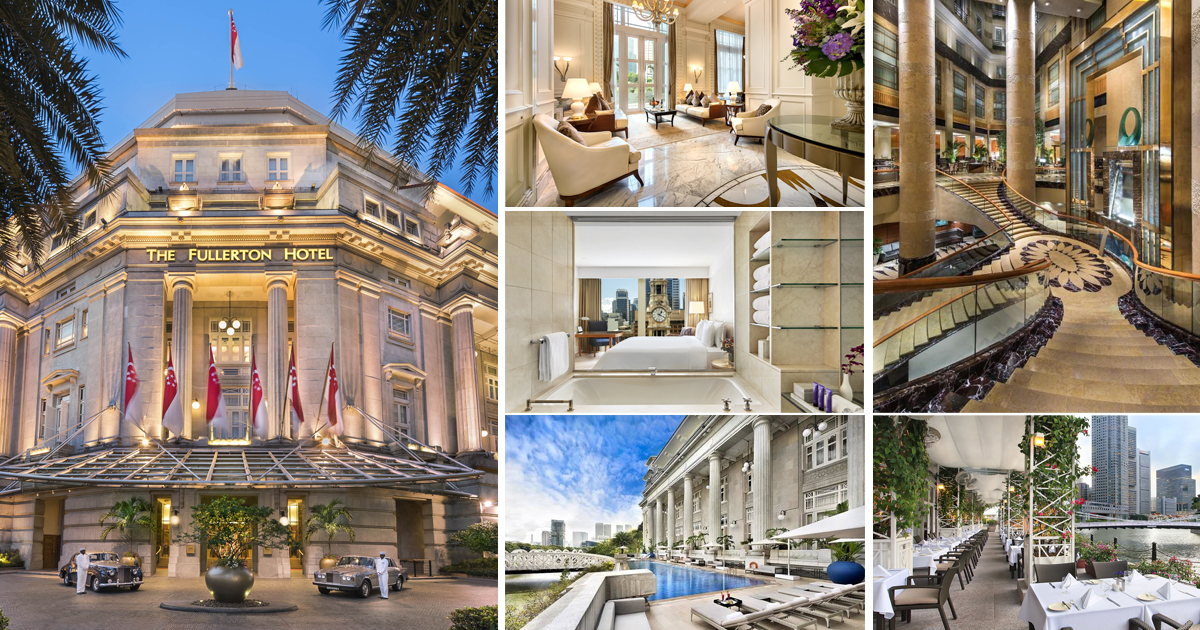 The Fullerton Hotel launches stay 2 nights, pay for only 1 staycation promotion