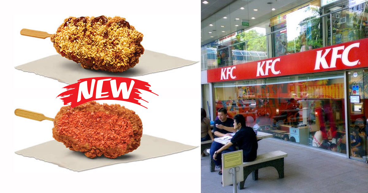 KFC Singapore introduces BBQ Cheese and Mala Popsicles