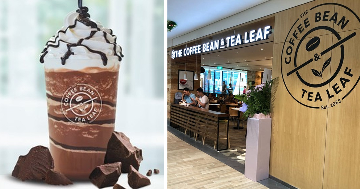Coffee Bean & Tea Leaf Celebrates SAF Day with 50% OFF Pure Dark Chocolate Ice Blended