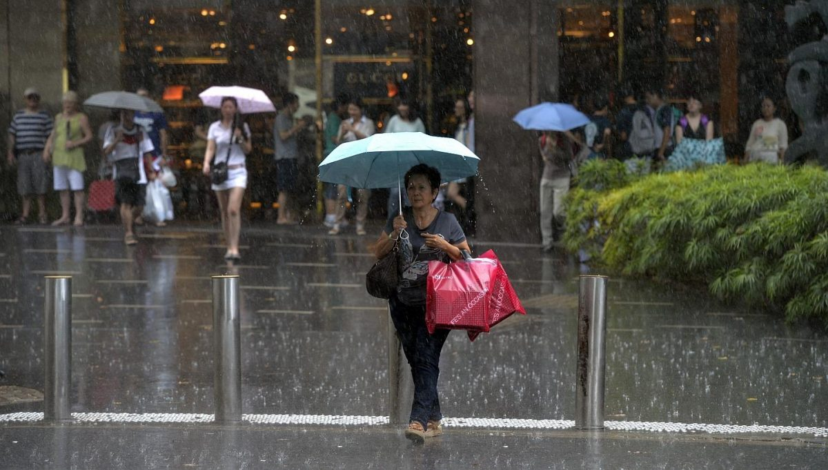 You can expect rainy weather for the rest of August